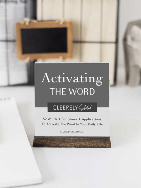 Men's Activating The Word Set