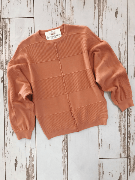 Ginger Textured Dolman