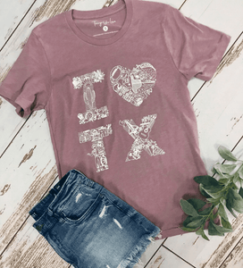 Heart of TX Tee