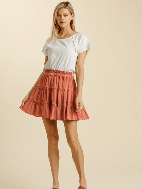 Canyon Ruffle Skirt
