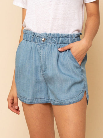 Denim Hang Loose Shorts