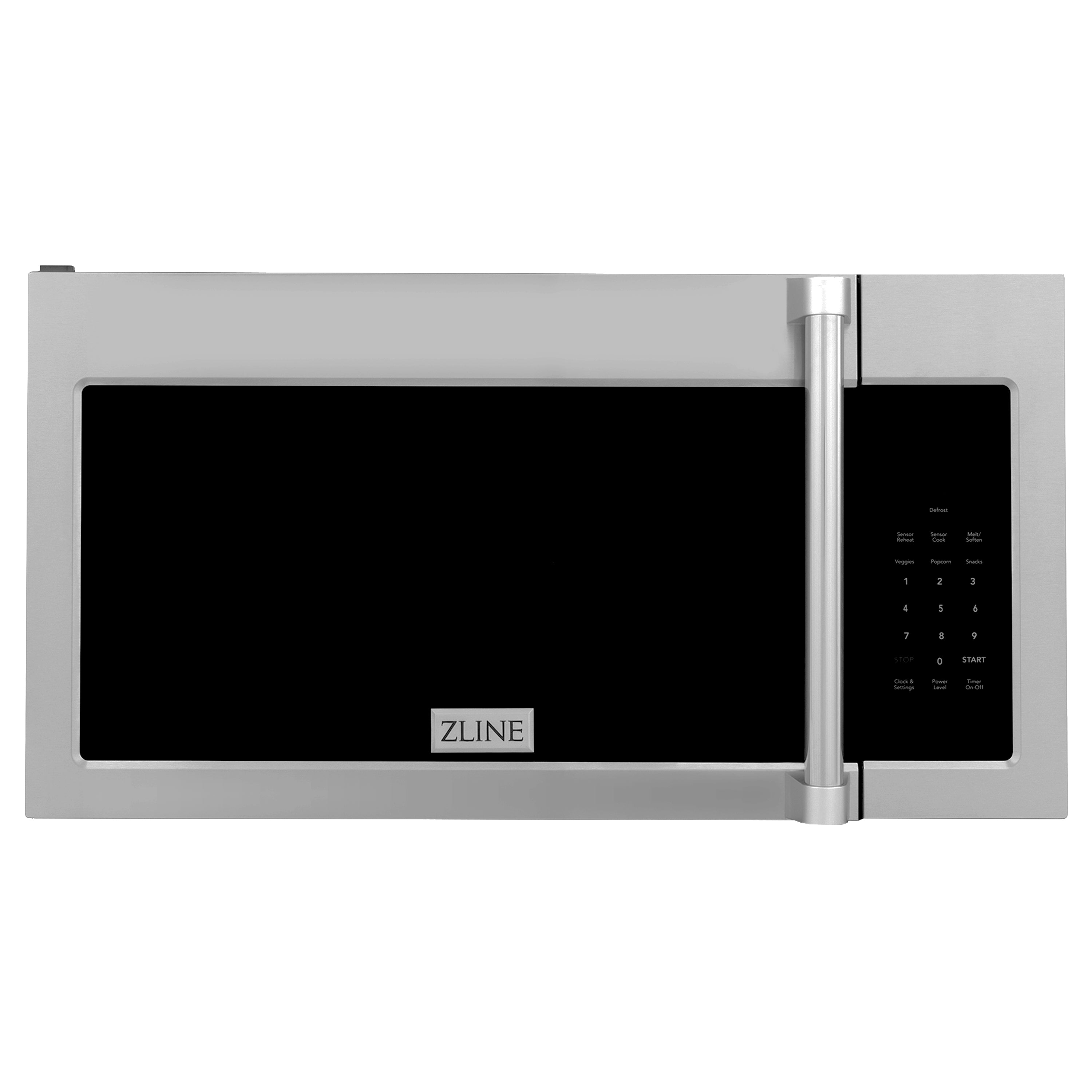 ZLINE Over the Range Convection Microwave Oven in Stainless Steel with Traditional Handle and Sensor Cooking MWO-OTR-H
