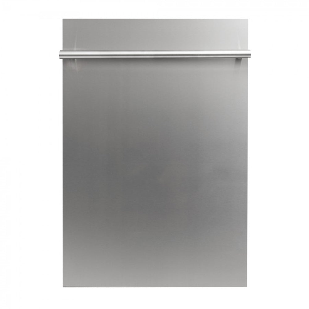 18 in. Compact Top Control Dishwasher 120-Volt with Stainless Steel Tub and Traditional Style Handle in Stainless Steel DW-304-H-18