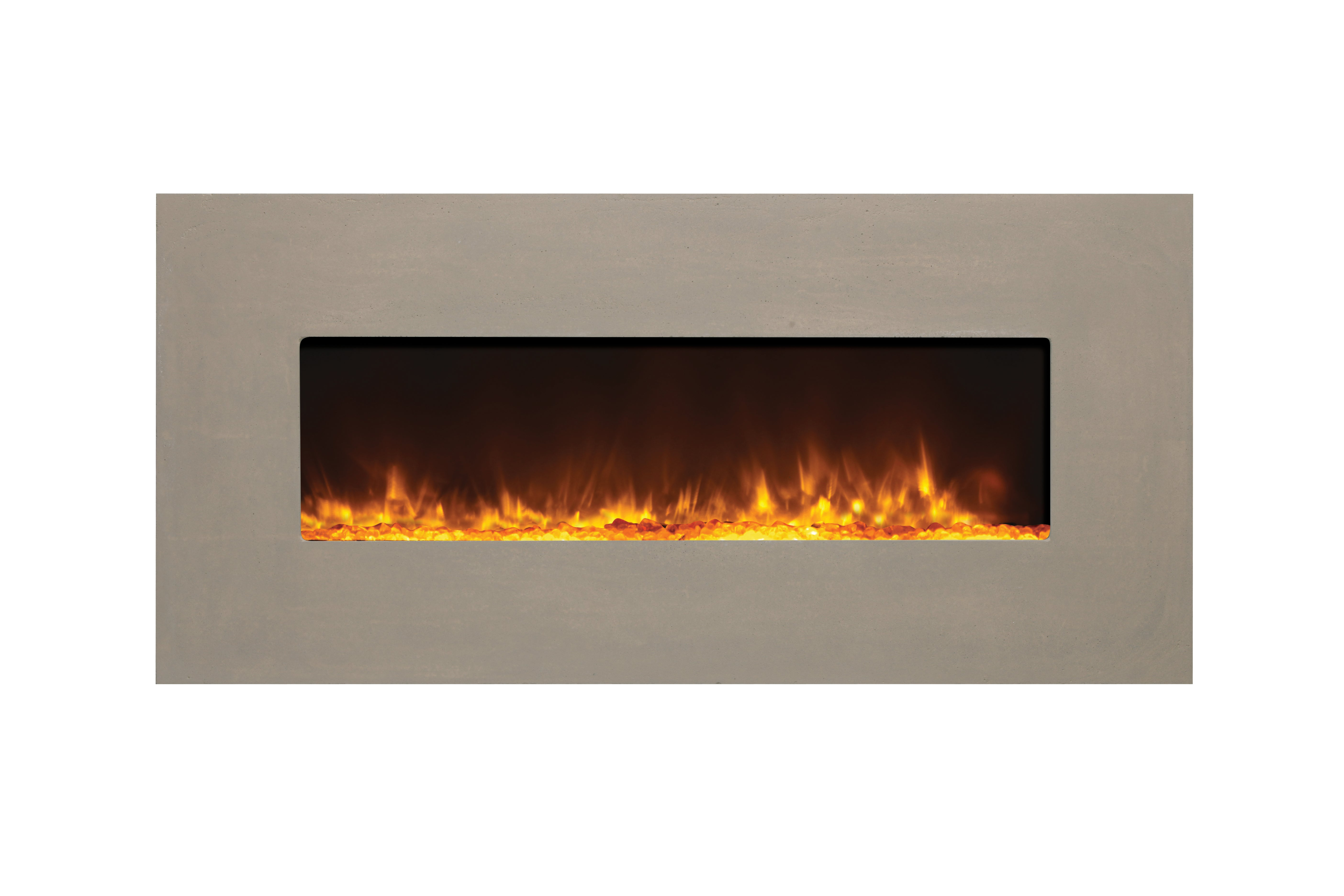Sierra Flame Emerson Slim See-thru Linear EMERSON-48-DELUXE-NG