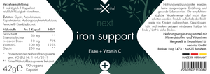 next iron support