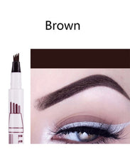 Load image into Gallery viewer, LULAA 4 Fork Waterproof  Microblading Eyebrow Pen