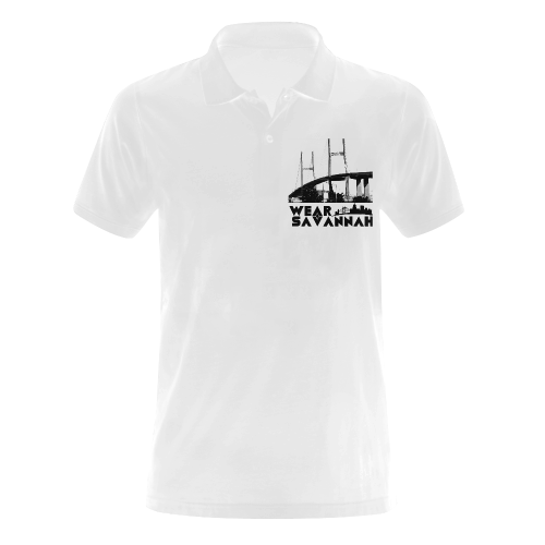 Men's Wear Savannah Bridge Polo (white)