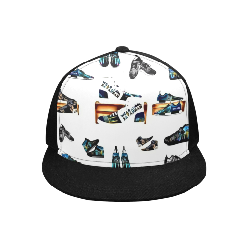 Wear Savannah Footwear Collage Snapback Hat