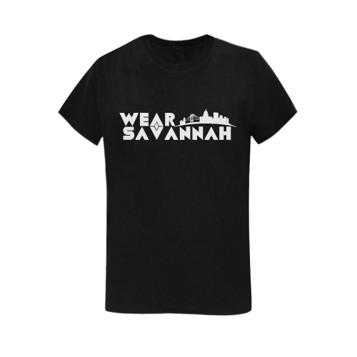 Woman's Wear Savannah T-Shirt (Black)