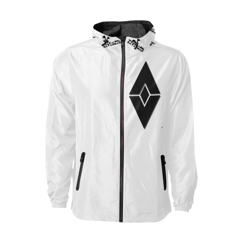 Men's White Wear Savannah Windbreaker
