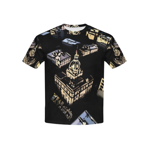 Kids City Hall Black T-Shirt