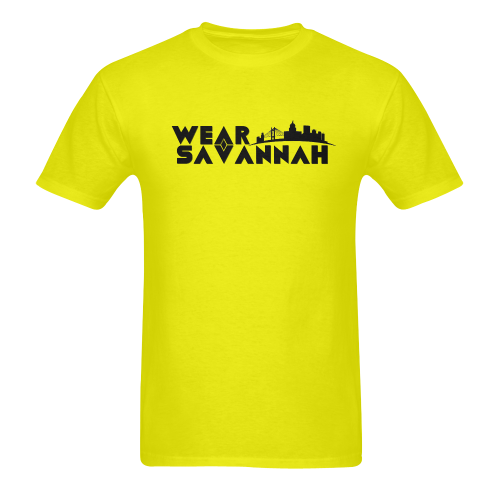 Men's Wear Savannah T-Shirt (Yellow)