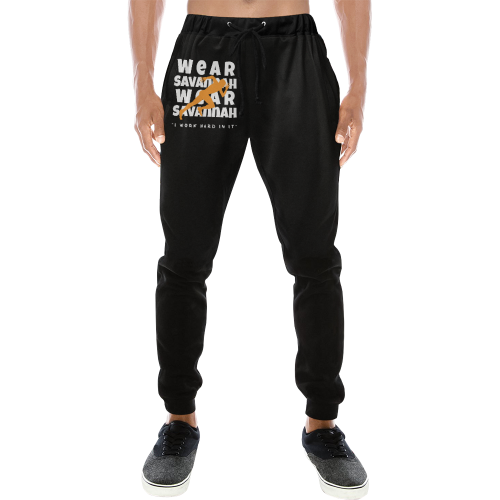 Men's I Work Hard In It Sweatpants
