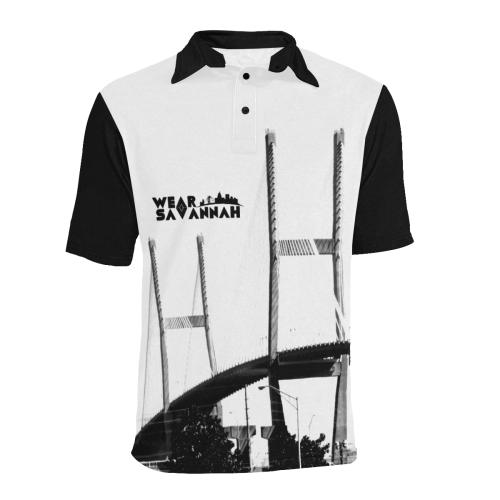 Men's Savannah Bridge Polo Shirt