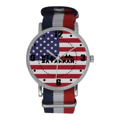 USA Nylon Strap Watch