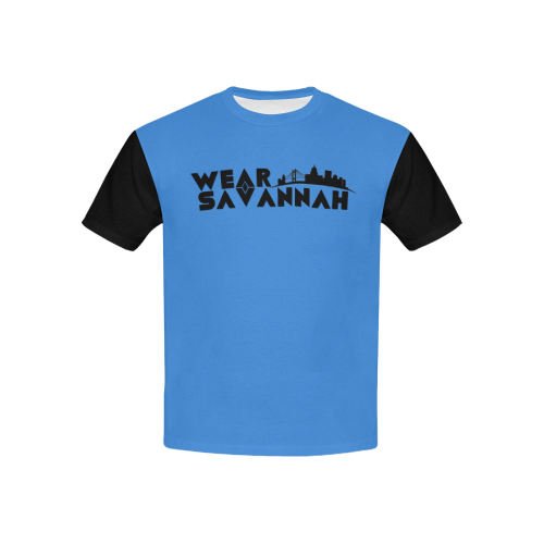 Kids Blue & Black Wear Savannah T-Shirt