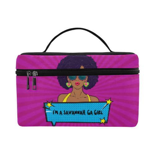I'm A Savannah GA Girl Cosmetic Bag
