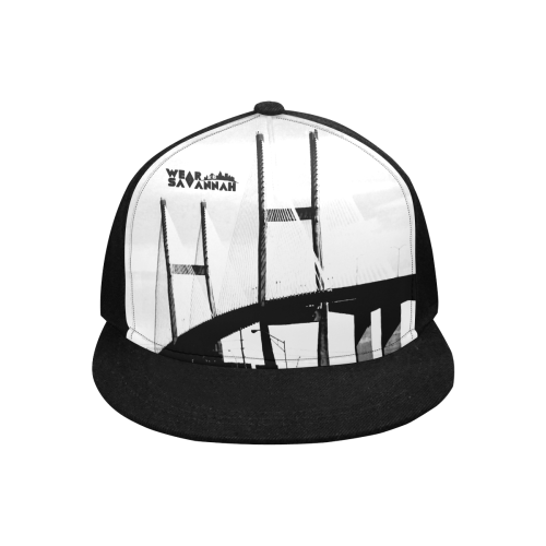 Black Savannah Bridge Snapback Hat