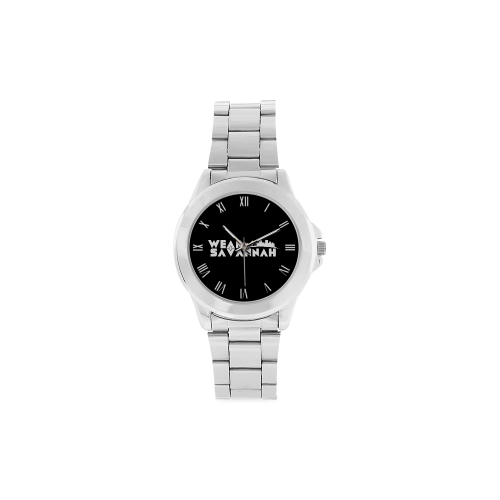 Unisex Classic Stainless Steel Watch