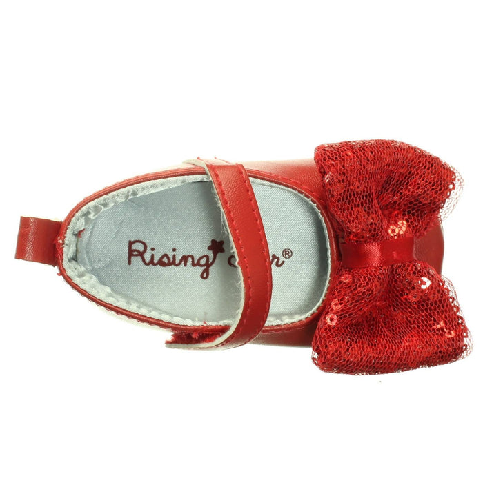 BABY GIRLS RED SHOES (Size 3-6M and 6-9M) - Cibigi