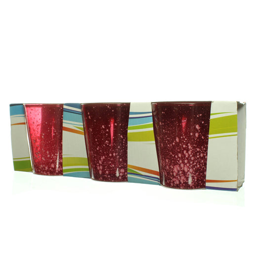 Lotus 12oz. Glass Tumblers, 3Pc - Cibigi