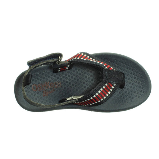 BOYS NAVY-RED SANDALS (Size 7) - Cibigi