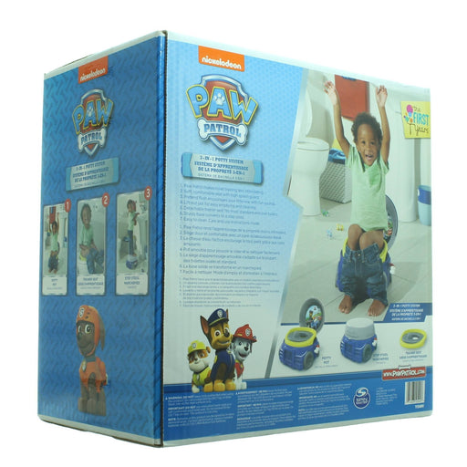 PAW PATROL 3-in-1 Potty System (Blue) - Cibigi
