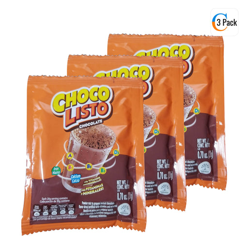 CHOCO LISTO CHOCOLATE MIX - 20g Packet