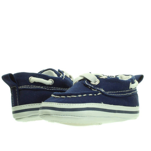 BABY BOY NAVY BLUE SHOES (0-6M)