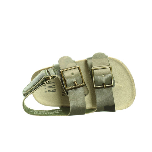 BABY BOYS ARMY GREEN SANDALS (3-6M) - Cibigi