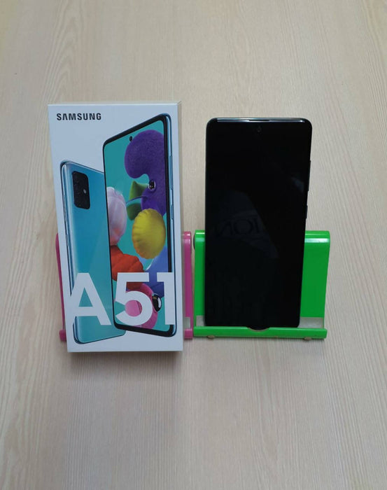 Samsung Galaxy A51 SM-A515F/DS, GSM/HSPA/LTE, Dual Sim, 128GB, Quad 48+12+5+5+32MP Front Camera, 128GB