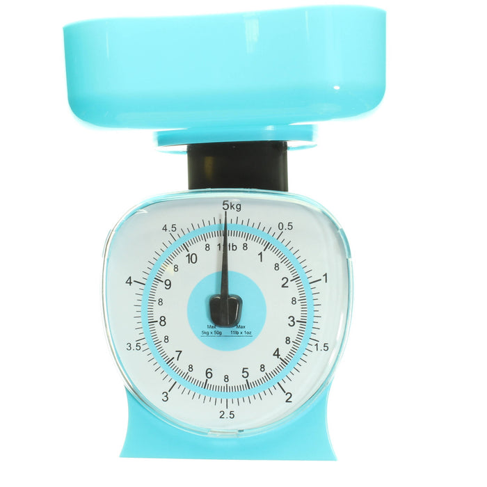Lotus Mechanical Weighing Kitchen Scale, 11lbs Capacity - Cibigi