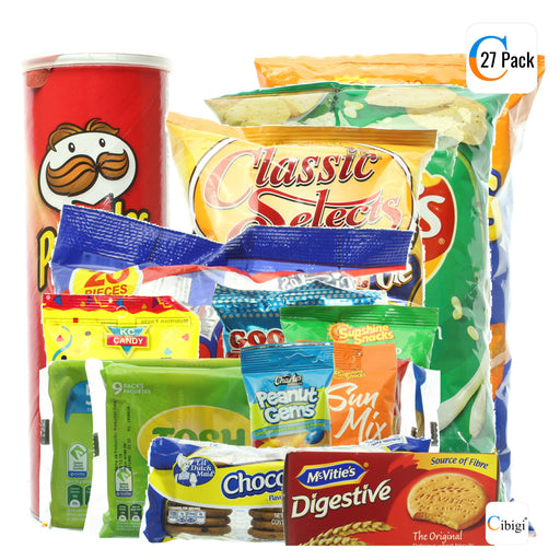 Bossdeals 27 Pack Large Snack Bundle