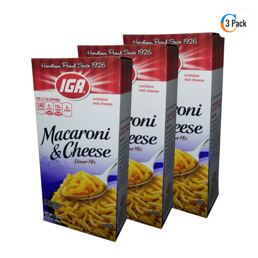 IGA Boxed Macaroni and Cheese - 206g Box