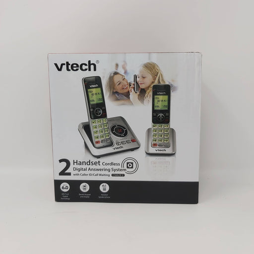2 Handset Cordless Digital Answering System