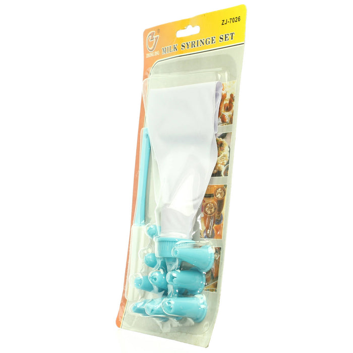 Zhong Jing Milk Syringe Set, Cake Decorating - Cibigi