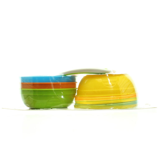 Munchkin Love A Bowls 10 Piece Bowl & Spoon Set