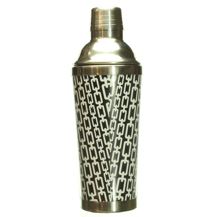 Cocktail Shaker, Stainless Steel with Leak Proof Lid - Cibigi