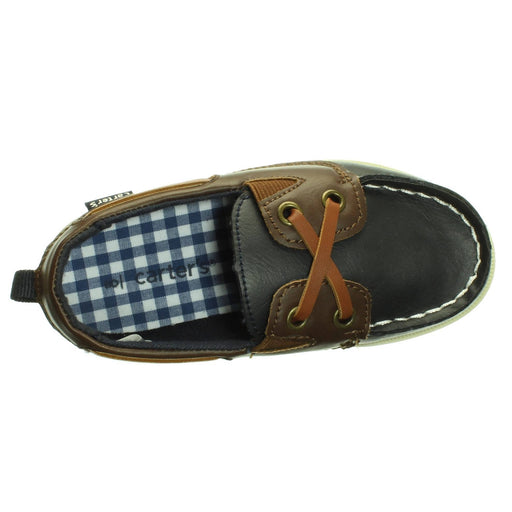 BOYS BLUE SEBAGO SHOES (4T) - Cibigi
