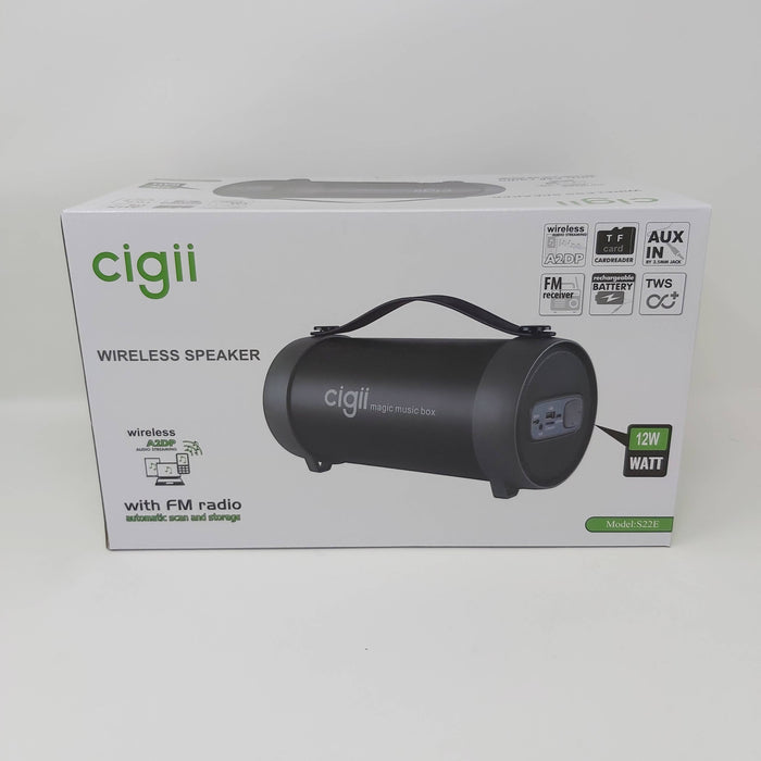 12W Cigii Wireless Speaker