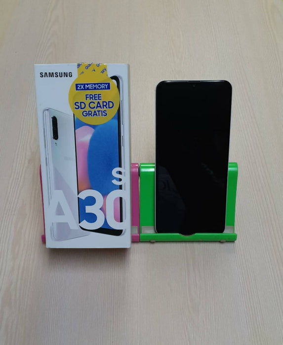 Samsung A30s A307G, w/SD Card, 4G, 3G, GSM, Android 9 Pie, Dual Sim, Triple 25MP+8MP+5MP+16MP Front Camera, 64GB