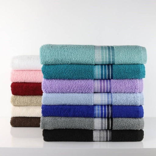 Bath Towel with stripe - 27*52
