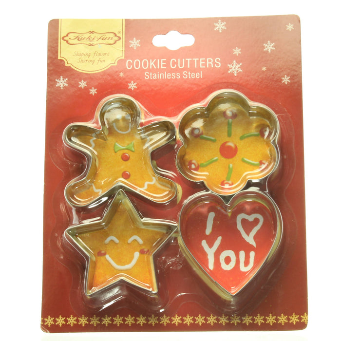 Kuki-Fun Cookie Cutter, Stainless Steel - Cibigi