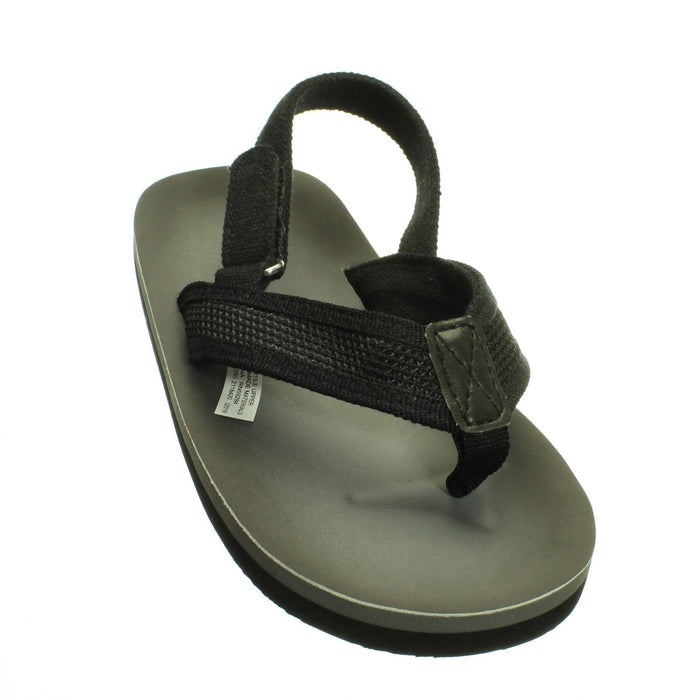 BLACK AND GREY SANDALS (Size 10-11) - Cibigi