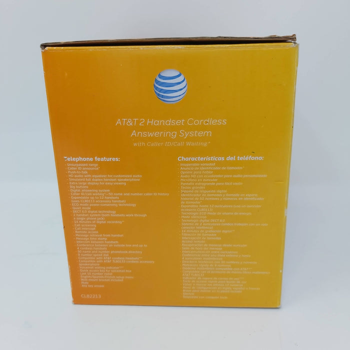 AT&T 2 Handset Cordless Answering Phone System