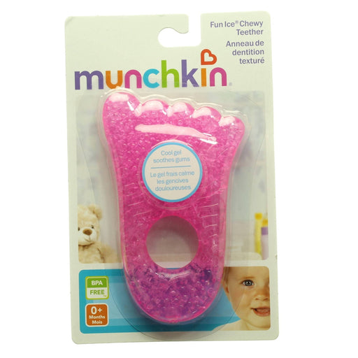 MUNCHKIN FUN ICE CHEWY TEETHER(Pink & Green) - Cibigi