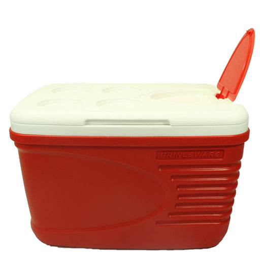 Red ice cooler box - Cibigi