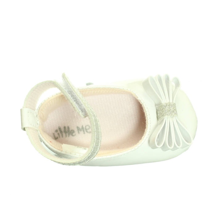 BABY GIRLS WHITE SHOES (Size 0-6M) - Cibigi