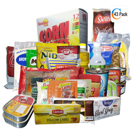43 Pack Grocery And Household Item Bundle