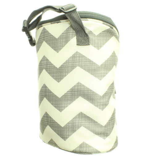 CHEVRON DOUBLE BOTTLE BAG - Cibigi